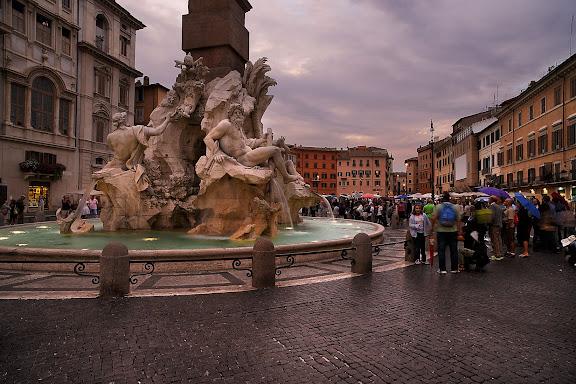 Plaza NabonaRoma, Italia.