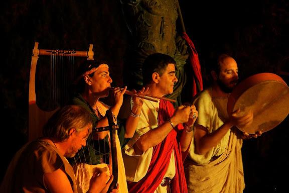LUDI SCAENICI, la música al món romà. Tàrraco Viva, el festival romà de Tarragona. Tarragona, Tarragonès, Tarragona