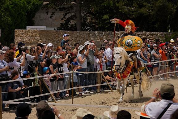 ALAE, Cavalleria romana. Timetrotter (Alemanya). Tàrraco Viva, el festival romà de Tarragona. Tarragona, Tarragonès, Tarragona
