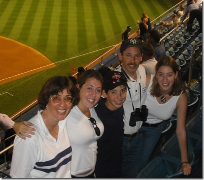 family yankees game