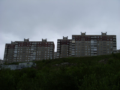 丘の上の団地群
