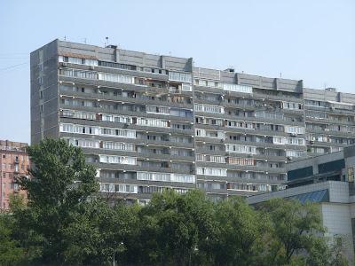 ソビエト様式の団地