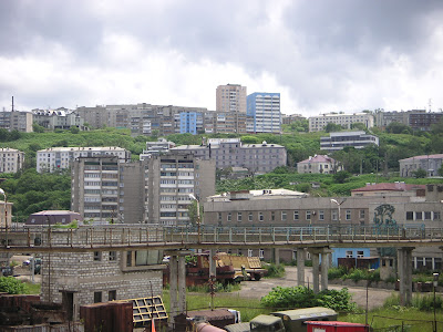 ホルムスクの街並