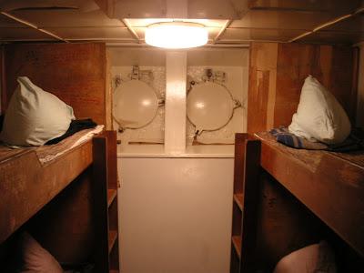 船底の船室