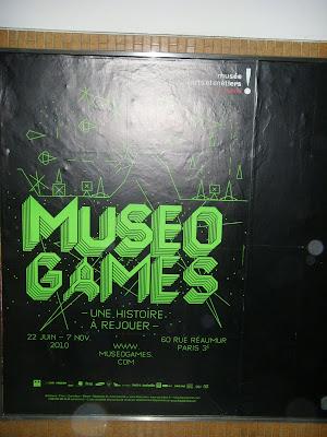 MUSEO GAMESのポスター