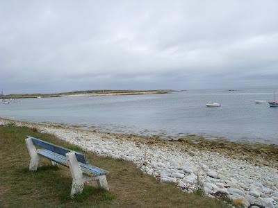 モレーン島の湾