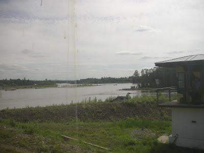 タイガを流れる川