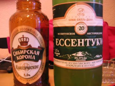ビールと炭酸水