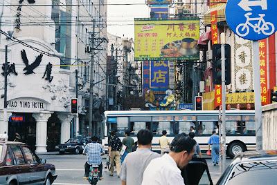 上海の通り