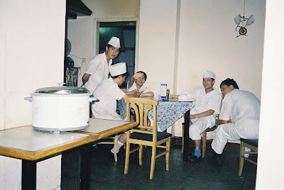 中華食堂の奥