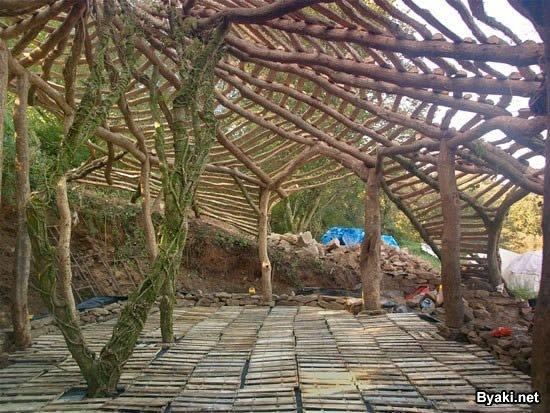 casa replica de hobbit  (6)