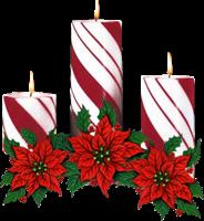 tubes velas navidad