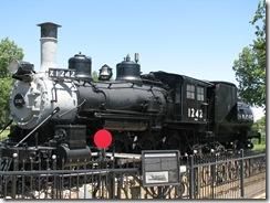 1214 Engine 1242 Cheyenne WY