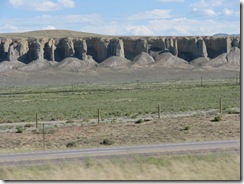 1483 View between Point of Rocks and Rock Springs WY