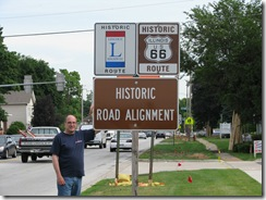0176 Plainfield IL Lincoln - Route 66 Alignment