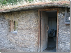 0821 Sod House at Sod House Museum Gothenburg NE