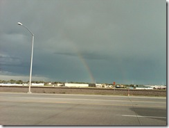1101b Rainbow at Super 8 Cheyenne WY