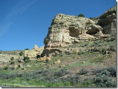1714 Castle Rock as viewed from I 80 Utah