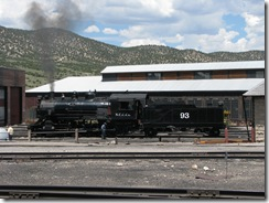 2232 Steam Locomotive Engine # 93 Ely NV
