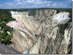 5762 Grand Canyon of Yellowstone Grand View Yellowstone National Park