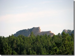 6333 View of Crazy Horse Memorial from US 16 SD