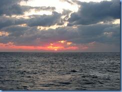7482 Sunset from Promenade Deck Celebrity Mercury