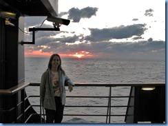 7479 Sunset from Promenade Deck Celebrity Mercury
