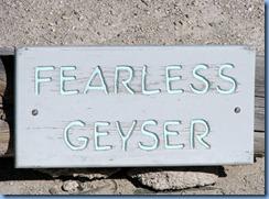 9147 Fearless Geyser Norris Geyser Basin YNP WY