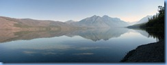 9451 Lake McDonald Going To The Sun Road GNP MT Stitch