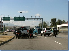 0736 US Border Crossing Abbotsford BC