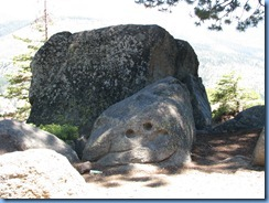 2215 Happy Face Rock at Washburn Point YNP CA