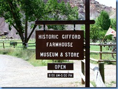 4650 Gifford Farmhouse Capitol Reefs National Park UT