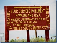5759 Four Corners Monument NM AZ, CO, UT