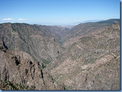 6179 Black Canyon of the Gunnison National Park South Rim Rd Sunset View CO