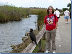 7394 Everglades National Park FL- Royal Palm Anhinga Trail - Karen & Anhinga