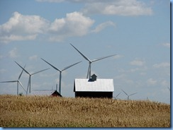 6819  I-55 wind turbines near Odell IL