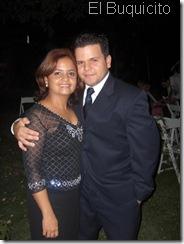 Josefina Escuder e hijo