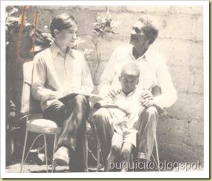 Frank Peña con Belanche