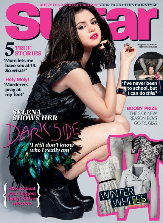 Crαzy News♥: Selena Gómez radiante para la revista Sugar