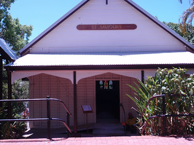 St. Saviour's Chapel in downtown Kuranda