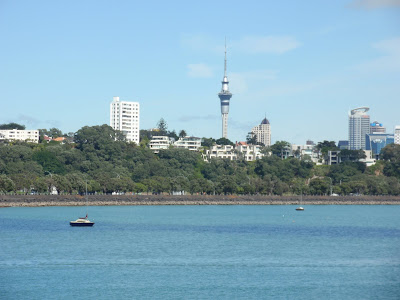 Auckland, New Zealand's largest commercial and industrial center