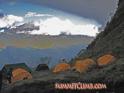 Chutanga Camp (Courtesy of SummitClimb)