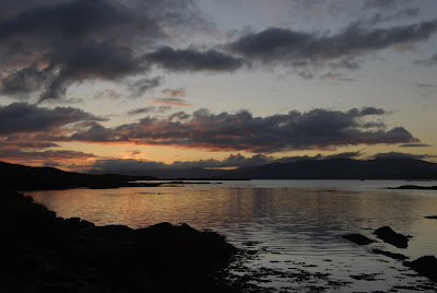 sunrise over the Beara Peninsula