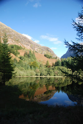Loch Torren, where the Hagrid's Hut scenes were filmed