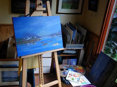 Art Studio, Ishbel Strachan