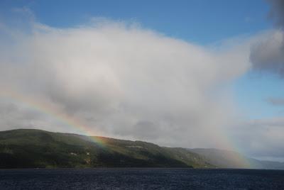 Rainbow over Loch Ness