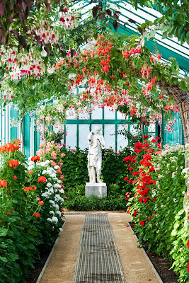 The Belgian Royal Greenhouse is over 2.5 hectares of stunning gardens. It is open to the public each spring for several weeks.