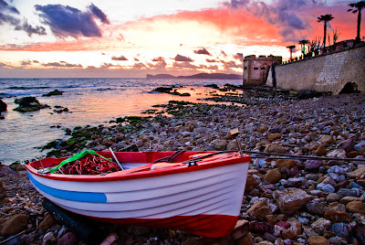 Sunset over Alghero in Sardinia was a magical sight I was able to photograph this past spring.