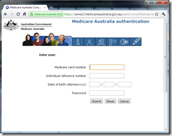 Australia.gov.au - linking your Medicare account