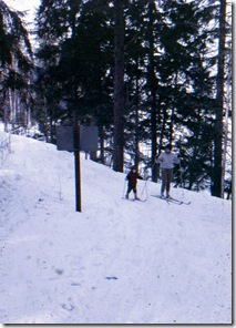 Ryan on skis 1967